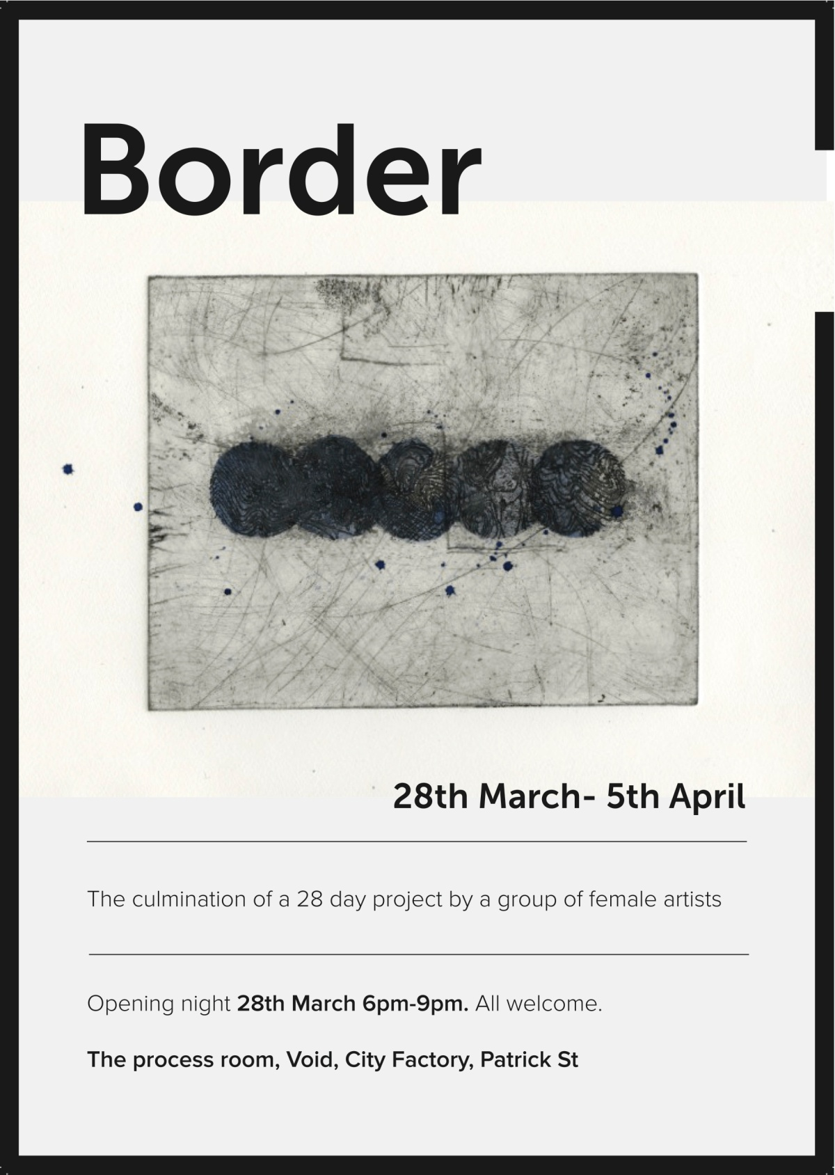 Border Exhibition- Void Gallery, Derry