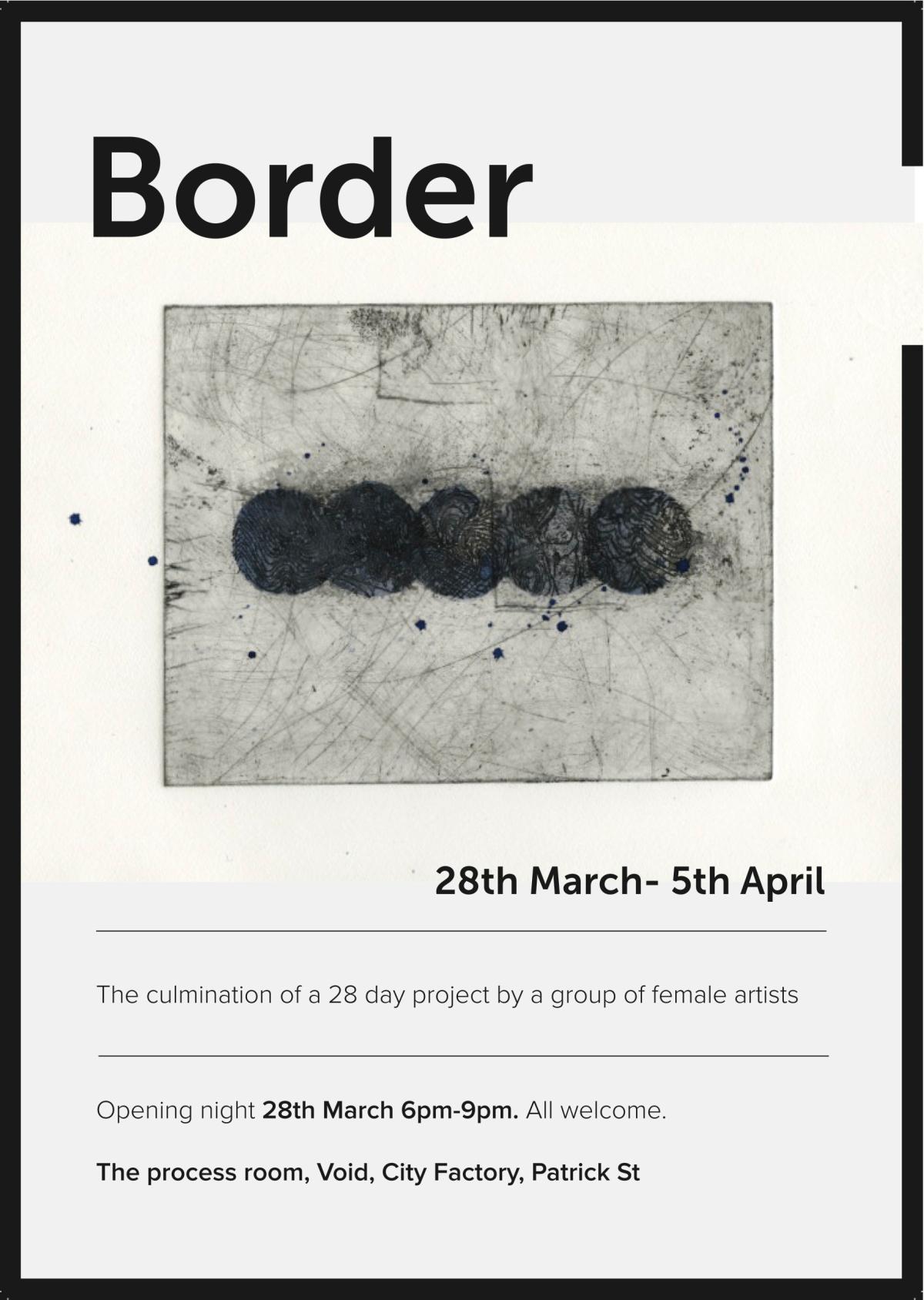 Border Exhibition- Void Gallery,Derry